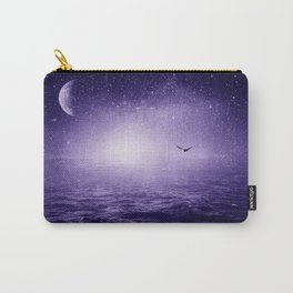 the Sea and the Universe ultra violet version Carry-All Pouch