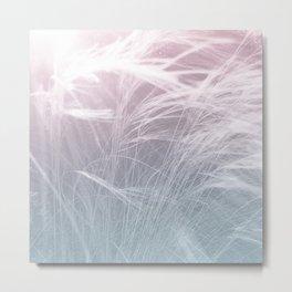 LIGHT FIELDS -Pink Metal Print
