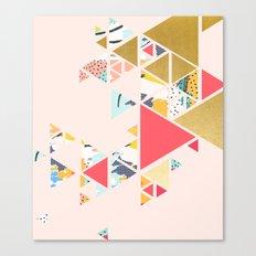 Gold Abstraction #society6 #decor #buyart Canvas Print