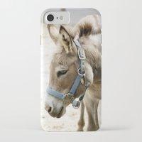 donkey iPhone & iPod Cases featuring Donkey by Amanda Stone