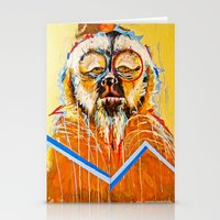 the dude Stationery Cards featuring DUDE.... by Peterson J Guerrier