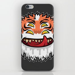 Diabolical Fuzzball (tiger) iPhone Skin
