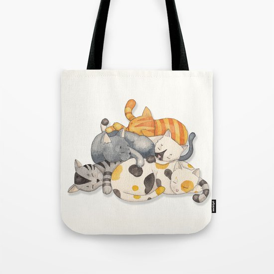 Cat Nap (Siesta Time) Tote Bag