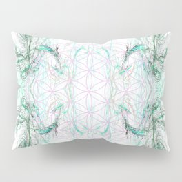 smoke on the flower of life Pillow Sham