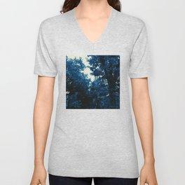 The Trees - Into the Blue Unisex V-Neck
