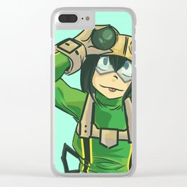 frog girl Clear iPhone Case