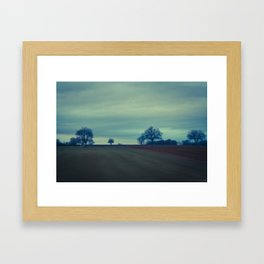 A lot of nothing Framed Art Print