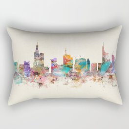 Frankfurt city Germany Rectangular Pillow