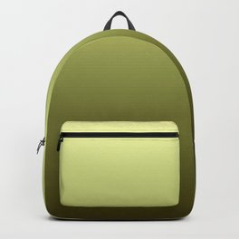 Yellow Olive Green Backgrund Backpack