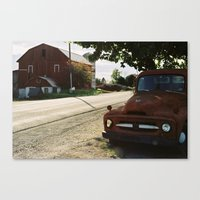 truck Canvas Prints featuring Truck by Jessica Krzywicki