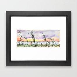 Chesapeake Bay Beach Framed Art Print
