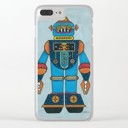 top-bot by nettie heron-middleton Clear iPhone Case