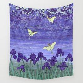 violet night Wall Tapestry