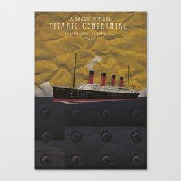 Titanic Centennial Canvas Print