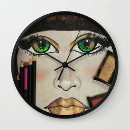 Make-up Art Wall Clock