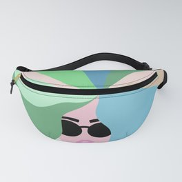 Rise and Shine! Girl Power Rainbow Hair Fanny Pack