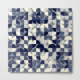 Quadrant Grid 2 Metal Print