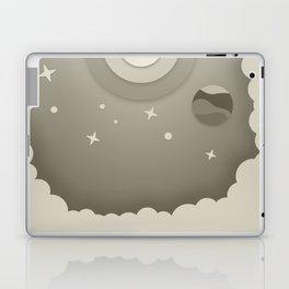 Night Sky Illustraion Laptop & iPad Skin