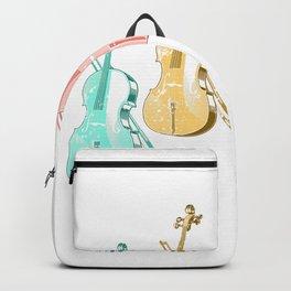 Colorful Violin Backpack