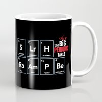 periodic table Mugs featuring The Big (Bang) Periodic Table by Boots