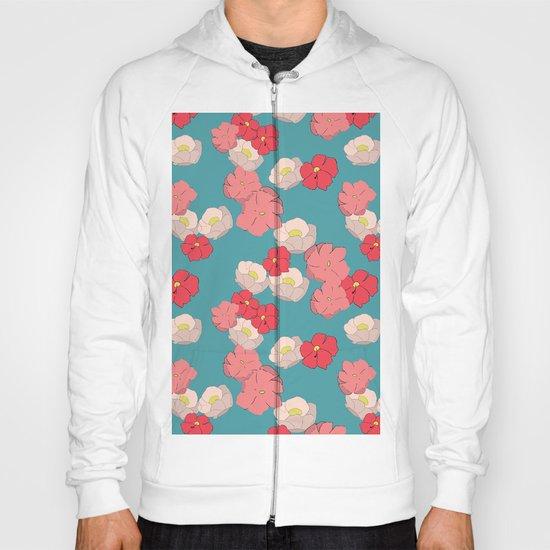Blooming graphic Hoody