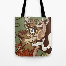 Oh my Deer (be unique and forever young like a 1960 radio) Tote Bag