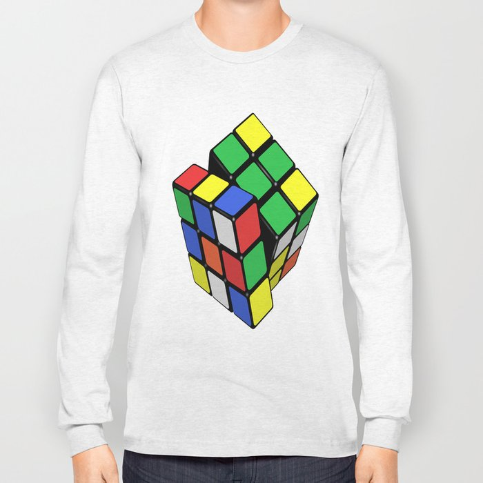 Magic Cube Rubik's_cube Long Sleeve T-shirt