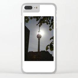 Berlin NO.1 Clear iPhone Case