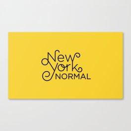 New York Normal Canvas Print