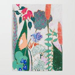 Speckled Garden Poster