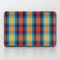 plaid iPad Cases featuring Plaid by Sierra Neale
