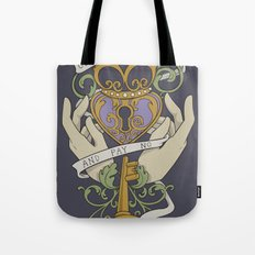 Come Live In My Heart Tote Bag