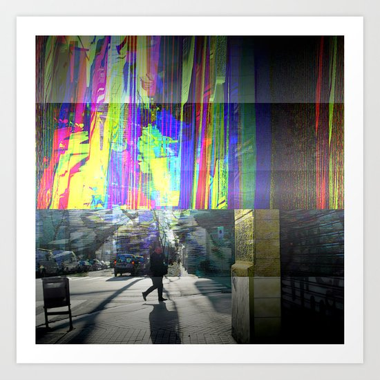 "Thursday 14 March 2013: ""...prism is only walls..."" Art Print"