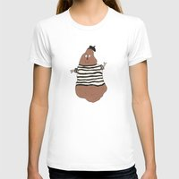 potato T-shirts featuring Monsieur Potato by Spacecar