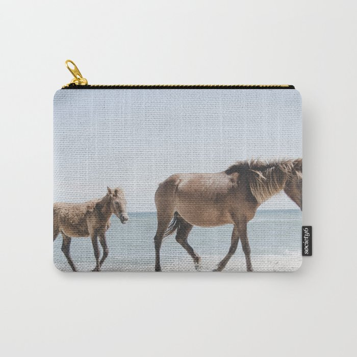Horse Horse beach Carry-All Pouch