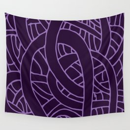 Microcosm in Purple Wall Tapestry