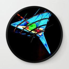 Martini Glass Las Vegas Wall Clock