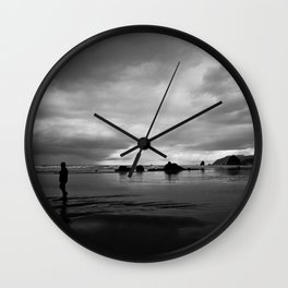 Out for a Walk Wall Clock