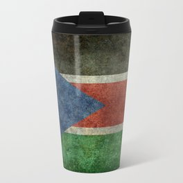Republic of South Sudan national flag - Vintage version Travel Mug