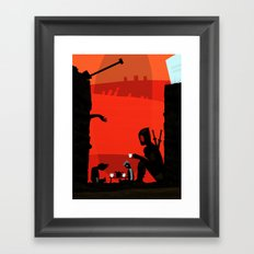 (Tea Parties are) DeadCOOL Framed Art Print