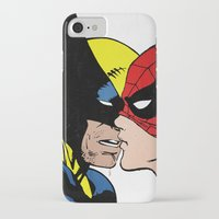heroes iPhone & iPod Cases featuring Heroes by Alex Cherry