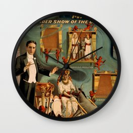 Thurston Magician Wall Clock