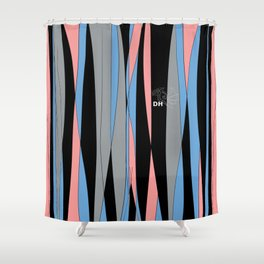 Candy Stripes Shower Curtain
