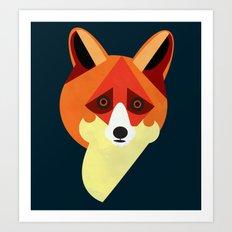 Zorro/Fox Art Print