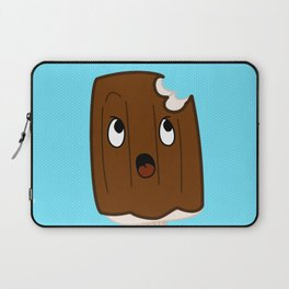 Sad Food - Topsy Turvy Ice Cream by Squibble Design Laptop Sleeve