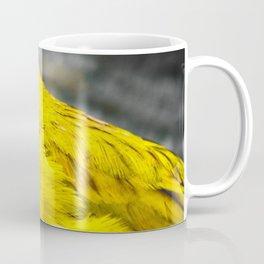 Hungry Yellow Birdie Coffee Mug