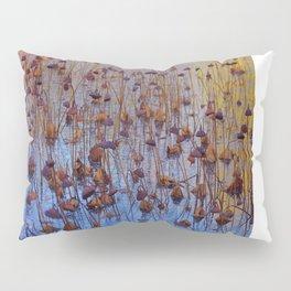 Dead Lotus Flower Pillow Sham