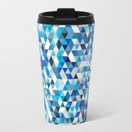 Icy triangles Travel Mug