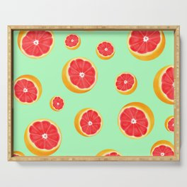 Mint Grapefruit Serving Tray