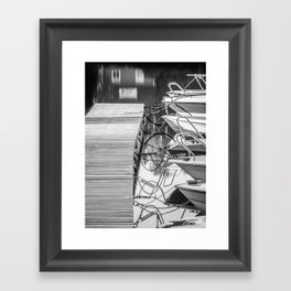 Attachments Framed Art Print